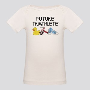 Future Triathlete Organic Baby T-Shirt